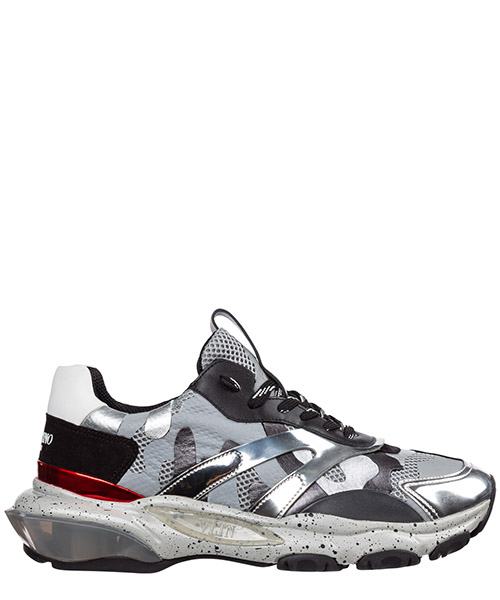 Sneakers Valentino bounce ry0s0b05gpd 0mk argento