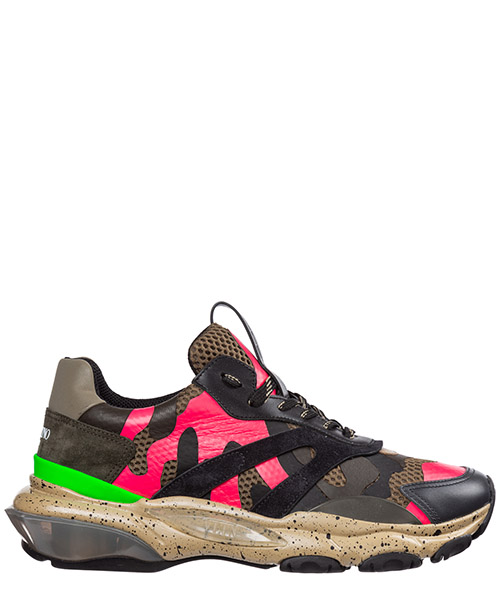 Sneakers Valentino bounce ry0s0b05ryp 28h verde