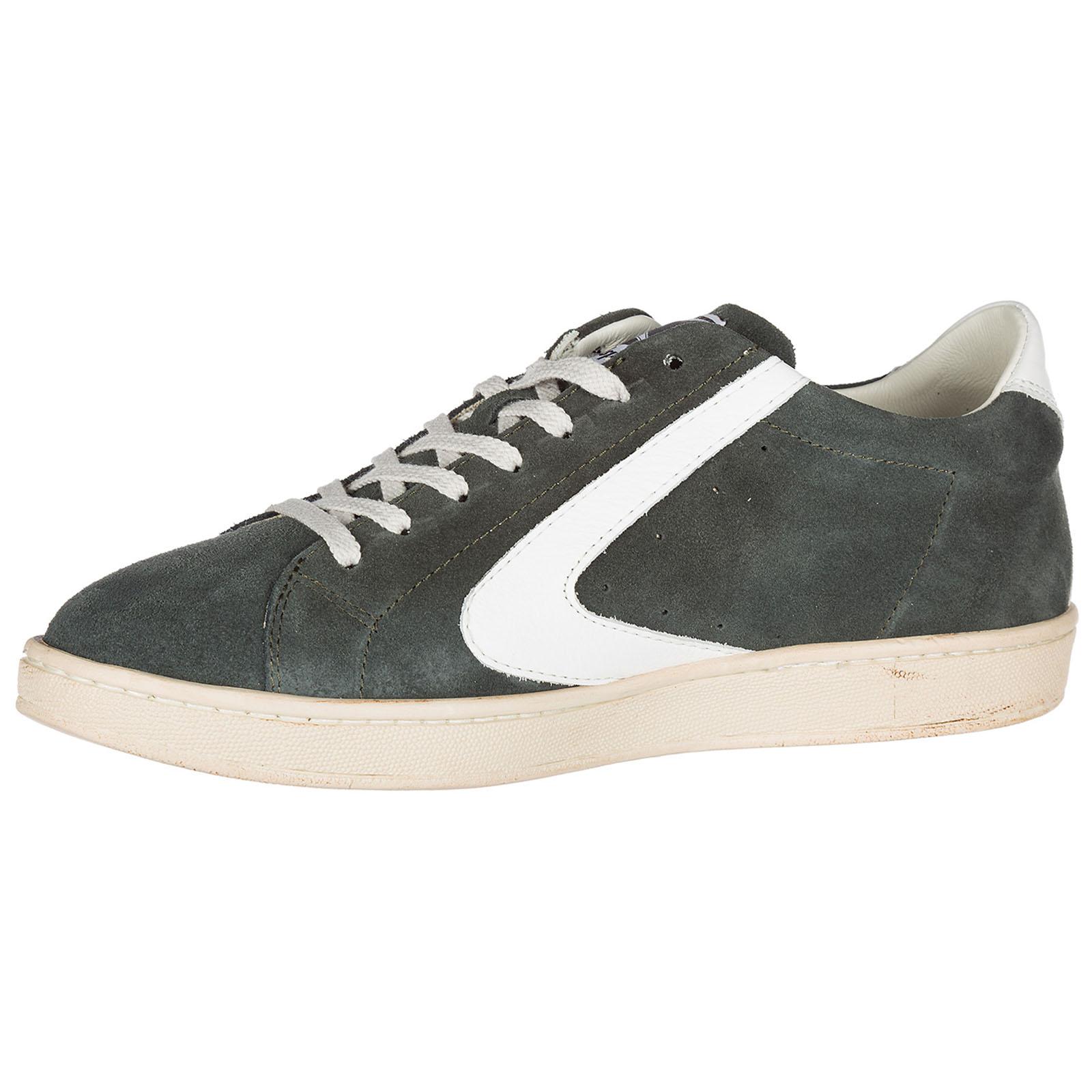 huge discount fc8b7 e6569 Scarpe sneakers uomo camoscio tournament