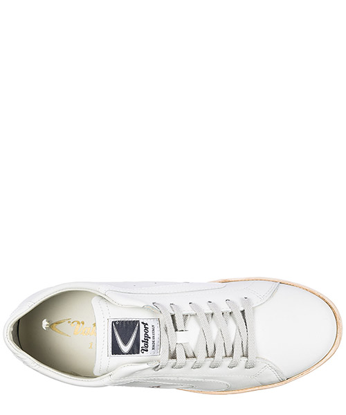 Men's shoes leather trainers sneakers secondary image