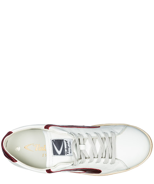 Chaussures baskets sneakers homme en cuir tournament secondary image