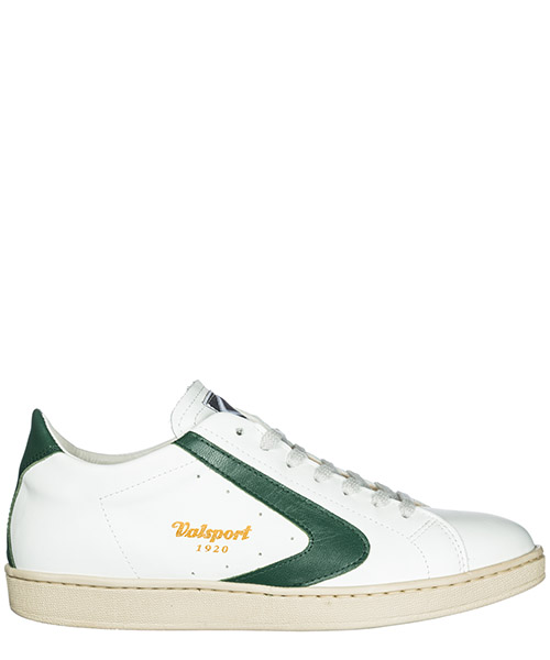 Sneakers Valsport 1920 tournament tourbevergreen bianco evergreen