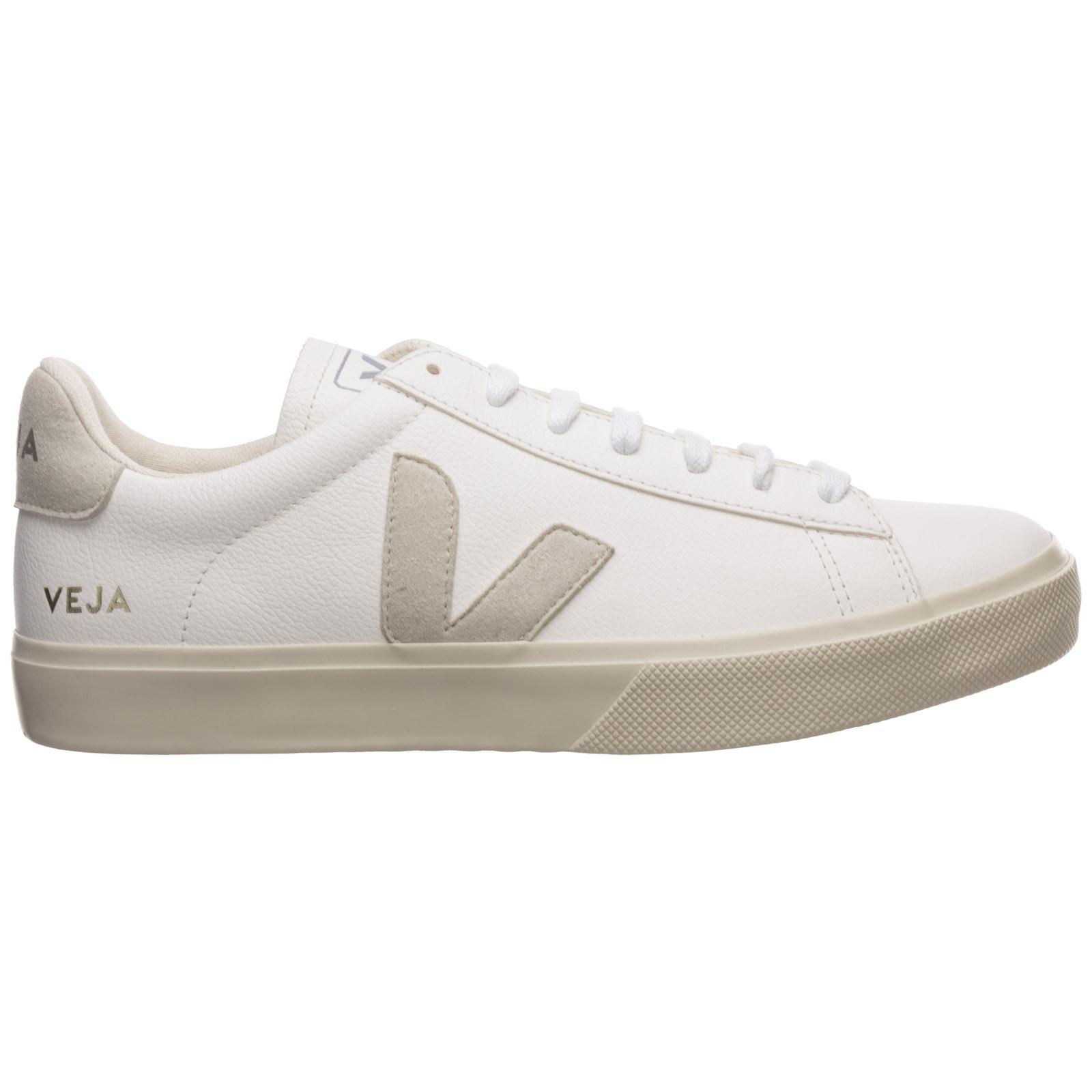 Cubo Cadera Cantidad de dinero  Sneakers Veja campo CP051945 white natural | FRMODA.com