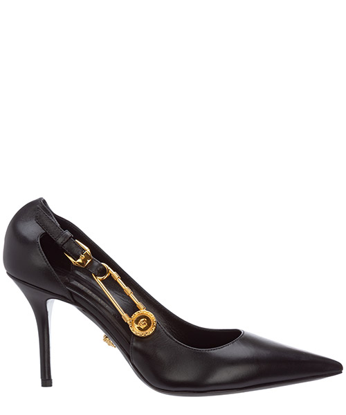 Pumps Versace Safety Pin DST477M-DVT2P_D41OH nero