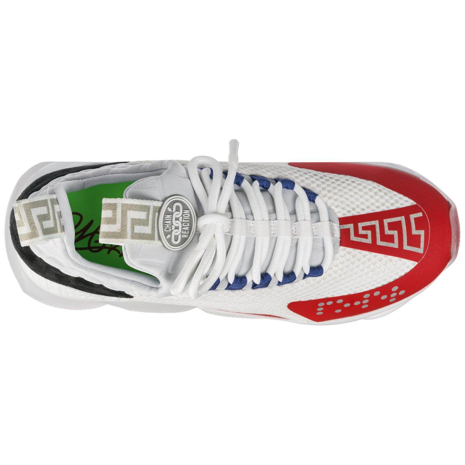 Sneakers Bianco D23tg Chainer Versace Cross Geranium Dsu7349 dwrn l1J5TFc3uK