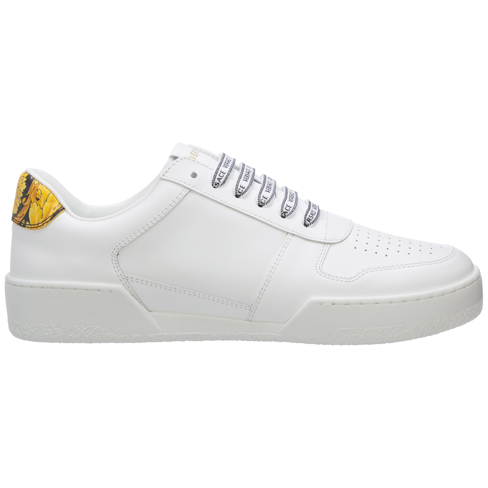 Versace MEN'S SHOES LEATHER TRAINERS SNEAKERS ILUS