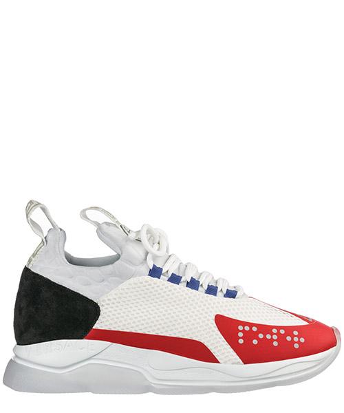Sneakers Versace Cross Chainer DSU7349-D23TG_DWRN bianco / geranium / nero