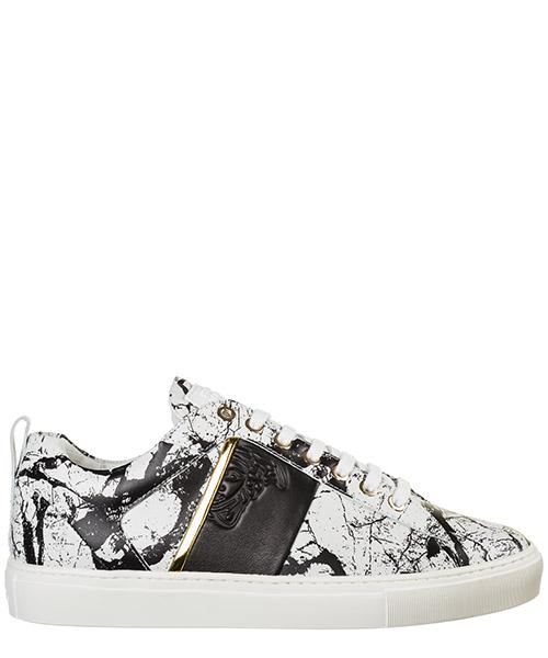 Sneakers Versace Collection Medusa V900738 VM00466 VA82H bianco - nero - oro - nero