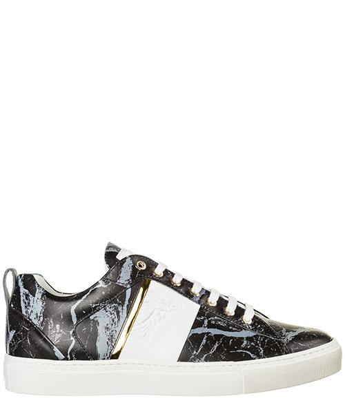 Sneakers Versace Collection medusa v900738-vm00466 _vb02h nero - grigio - oro - bianco