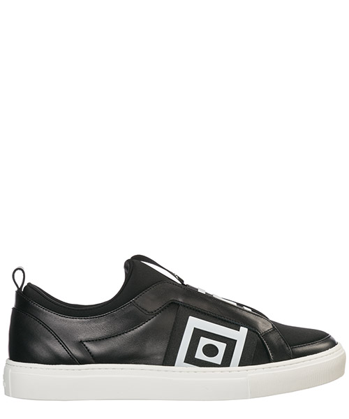 Sneakers Versace Collection V900742 VM00463 V659 nero