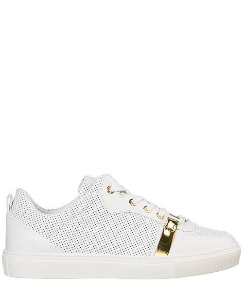 Zapatillas deportivas Versace Collection V900744 VM00468 VA85H bianco - bianco - oro