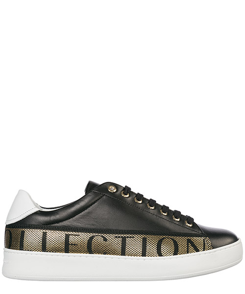Sneakers Versace Collection Logo V900745 VM00470 VA90H nero - bianco - oro