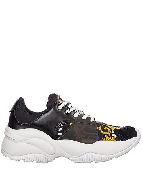 Sneakers Versace Jeans Couture logo baroque ee0vubsi2-e71182_em27 nero