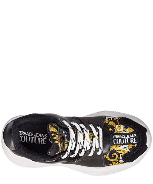 Women's shoes trainers sneakers  logo baroque secondary image