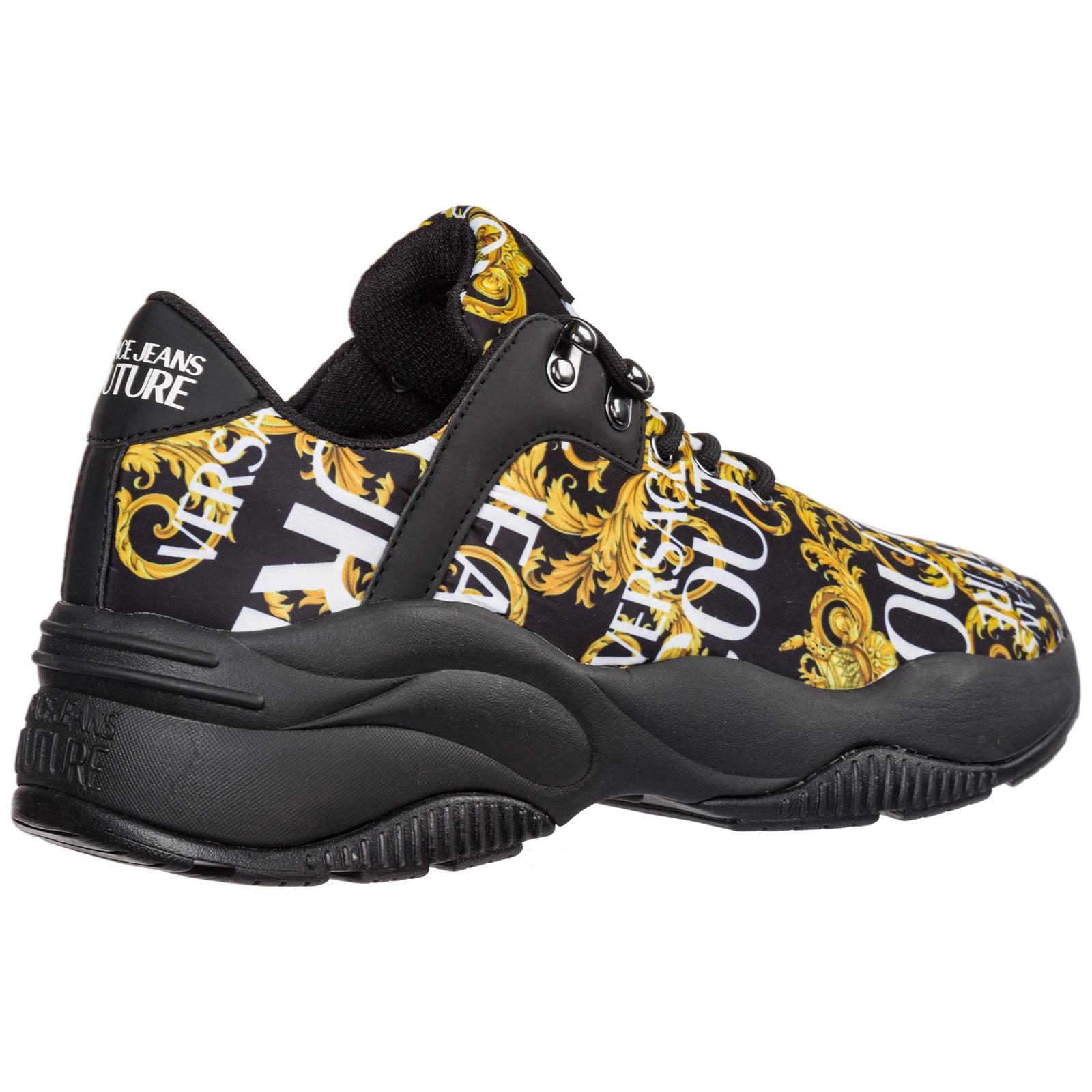 grande variété de modèles qualité parfaite taille 7 Chaussures baskets sneakers homme en nylon logo baroque