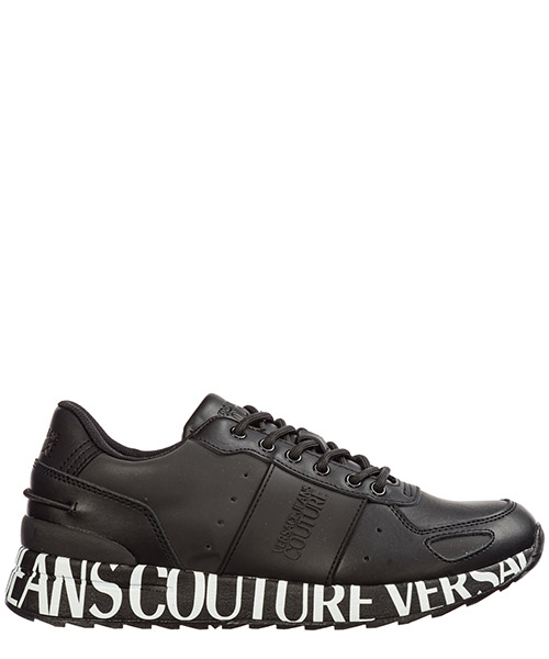 Sneakers Versace Jeans Couture logo e0yubsn2-71247_899 nero