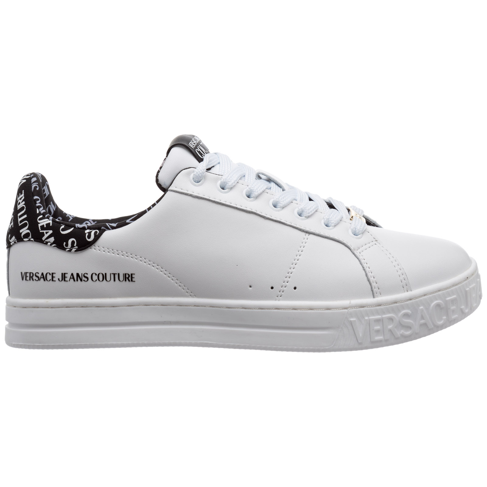 Versace Jeans Couture Leathers MEN'S SHOES LEATHER TRAINERS SNEAKERS FONDOCOURT