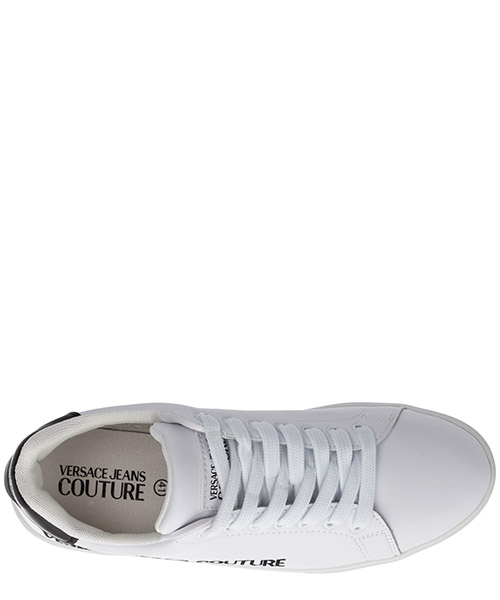 Men's shoes leather trainers sneakers brad secondary image
