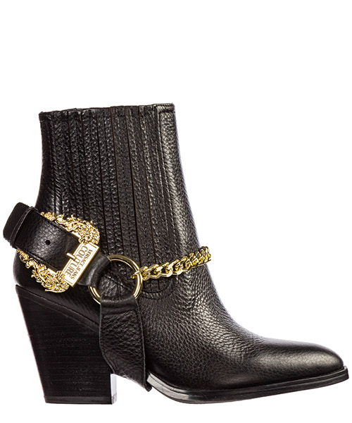 Heeled ankle boots Versace Jeans Couture eeovubs10-e71161_e899 nero