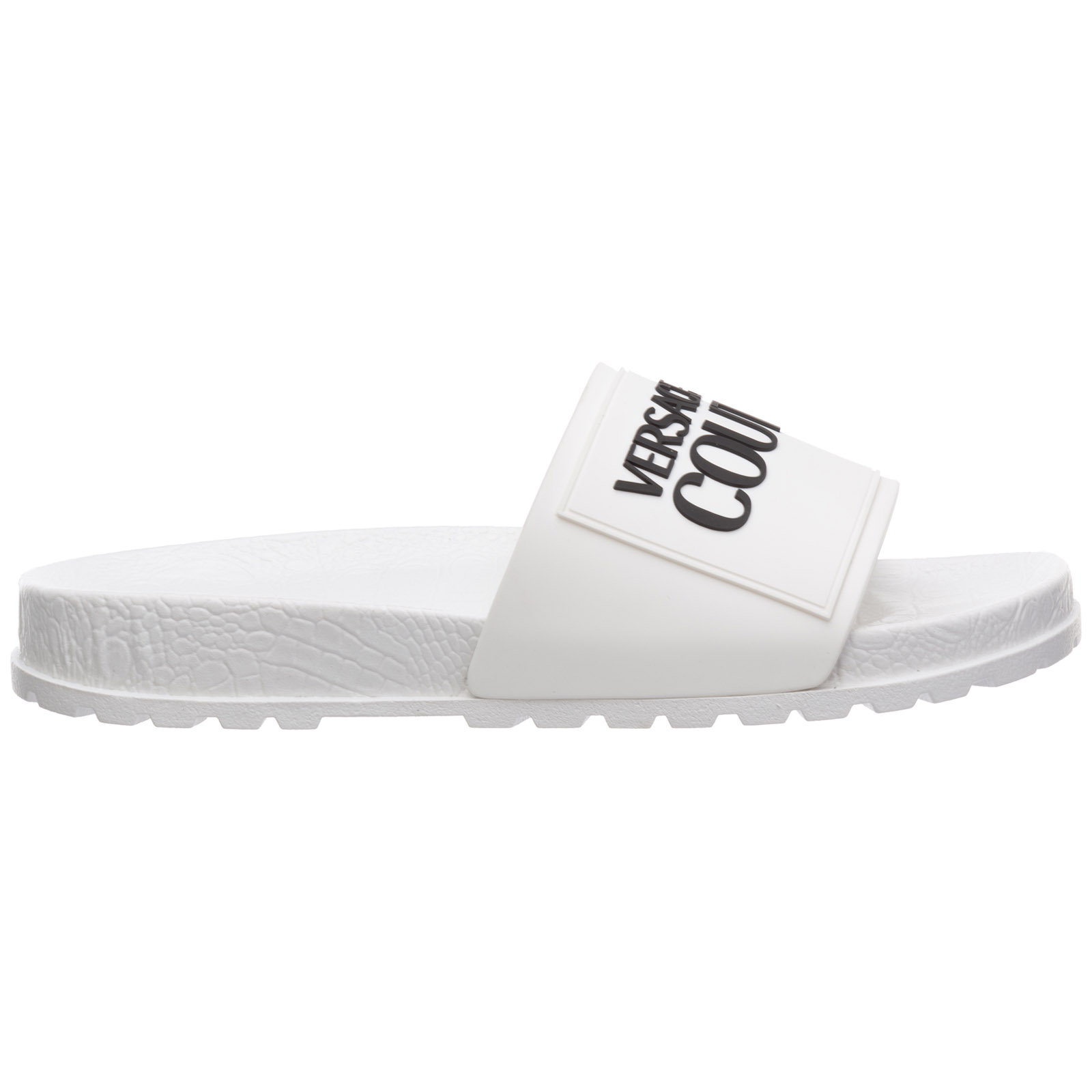 VERSACE JEANS COUTURE WOMEN'S RUBBER SLIPPERS SANDALS