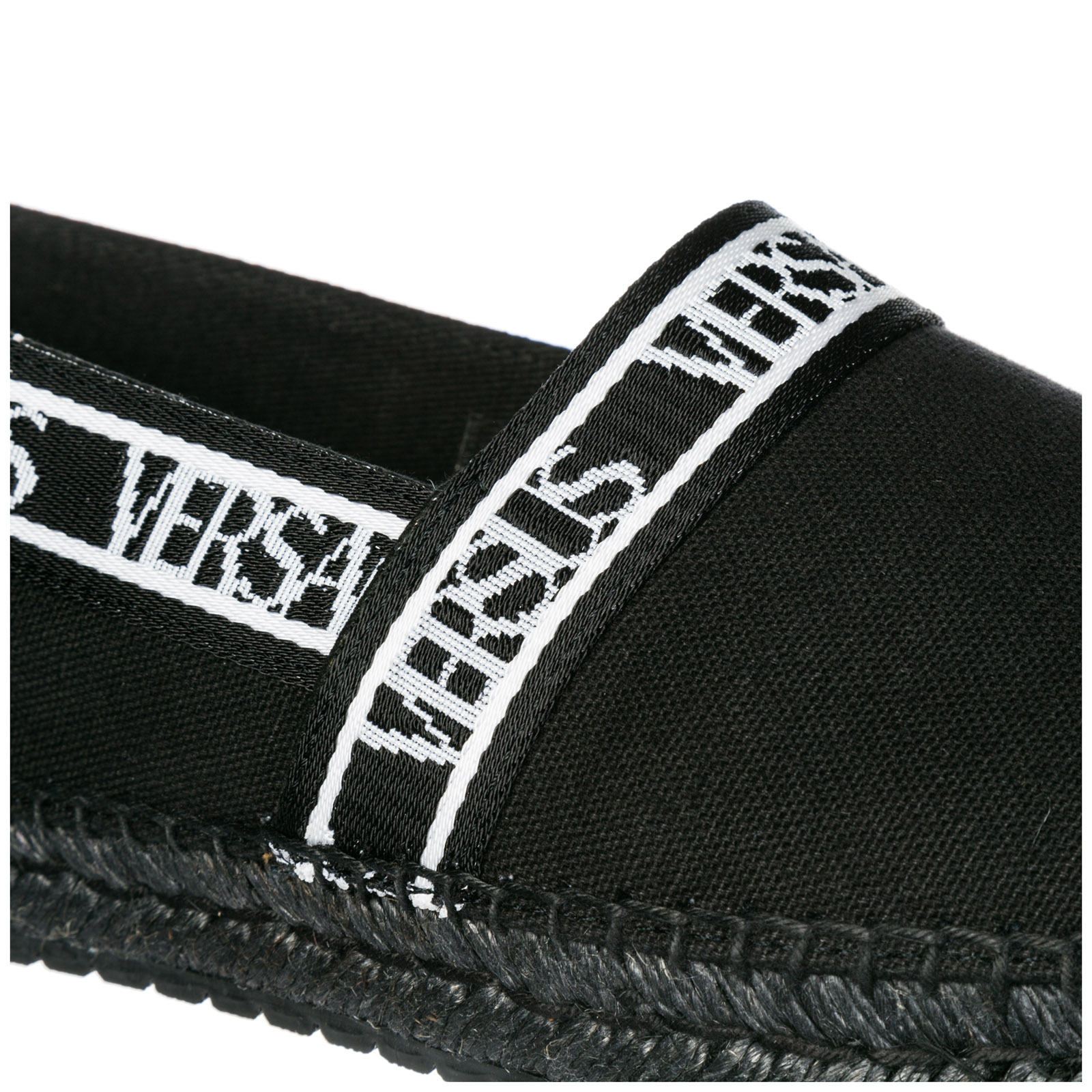 Men's cotton espadrilles slip on shoes