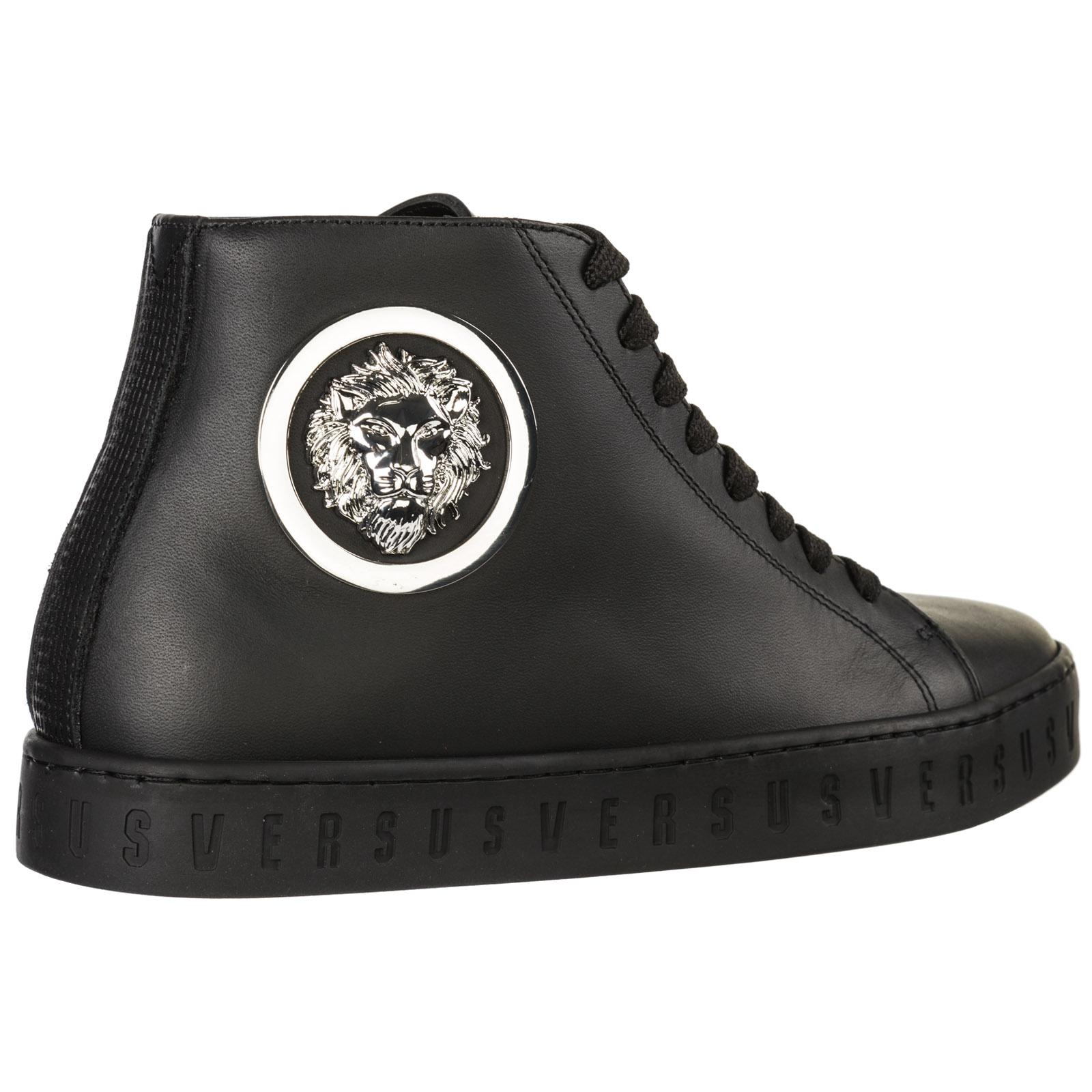 huge selection of e9062 49c22 Scarpe sneakers alte donna in pelle lion head
