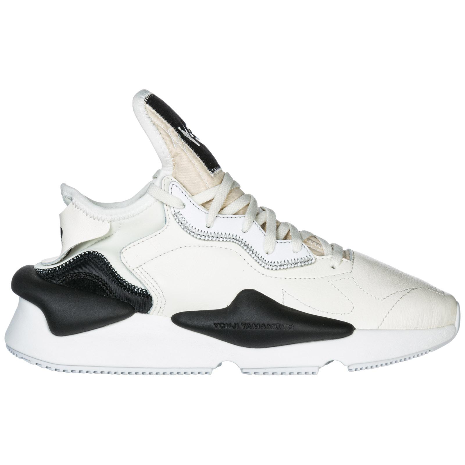 meet da905 093f9 Scarpe sneakers uomo in pelle kaiwa ...