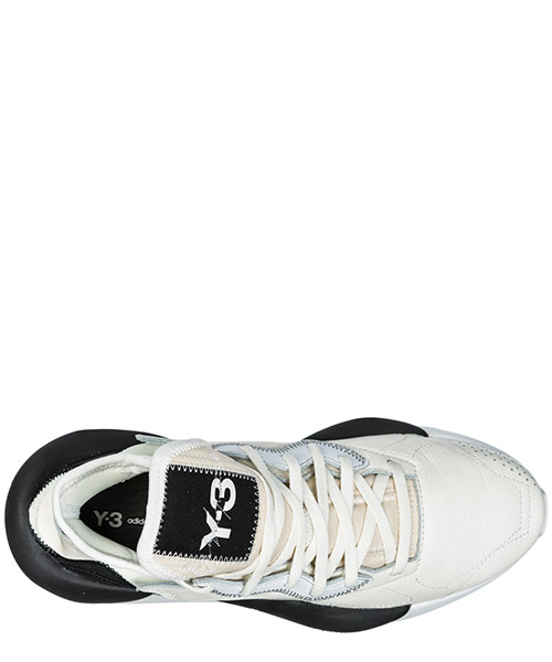 Men's shoes leather trainers sneakers kaiwa secondary image