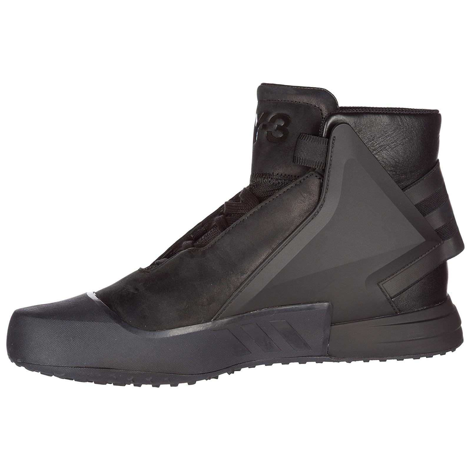 b6d09c94e1a0b ... Men s shoes high top leather trainers sneakers yohji yamamoto bball tech  ...