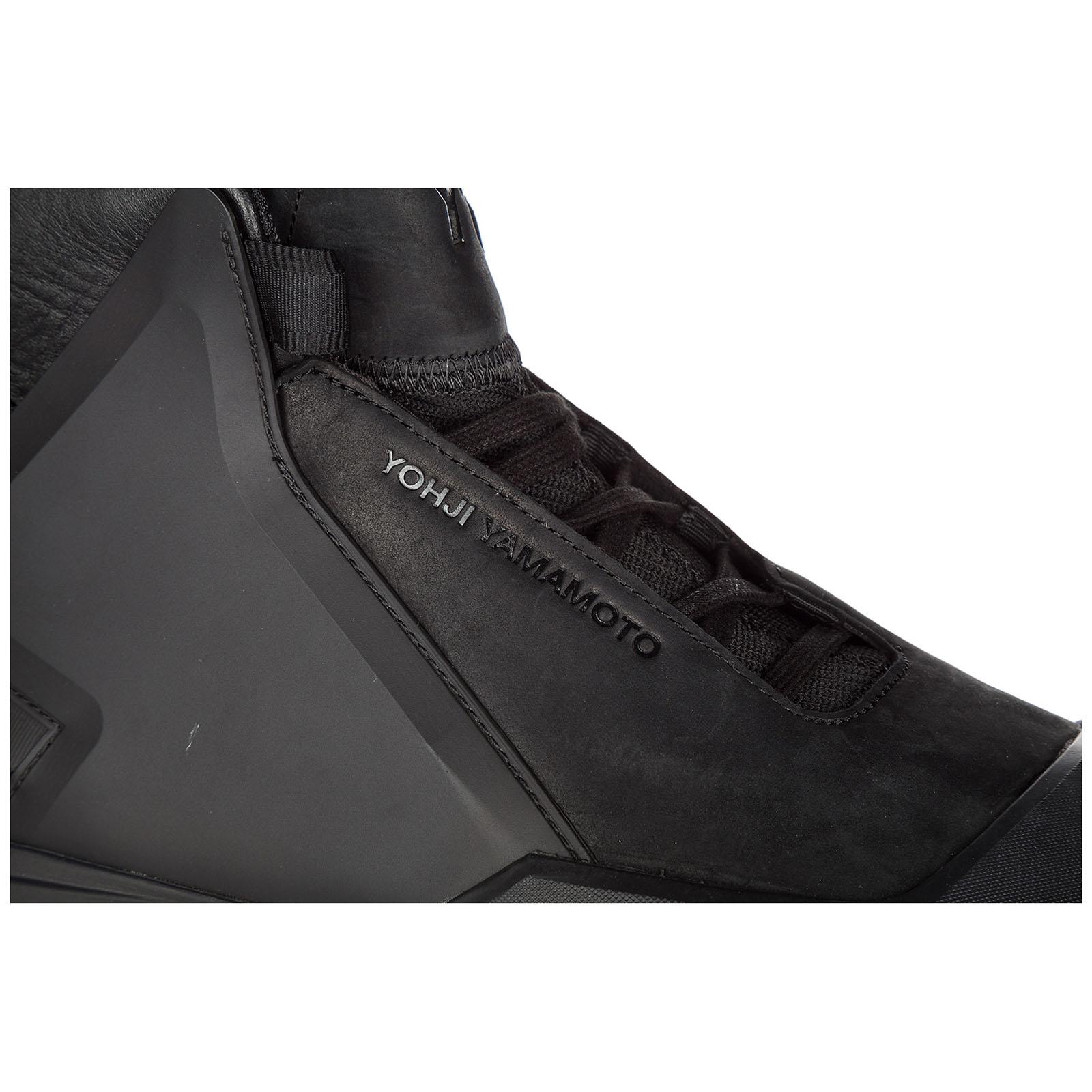 28edc028ae822 ... Men s shoes high top leather trainers sneakers yohji yamamoto bball tech