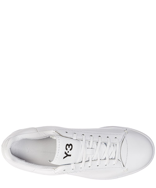 Chaussures baskets sneakers homme en cuir yohji court secondary image