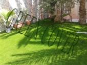 العشب الصناعي ( نجيلة )