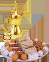 نوفر حلويات ابونارالمشهورة من مكة المكرمة طازجة لاهل جازان بالطائرة مقابل مبلغ بسيط للطلب. وشحن لجمي