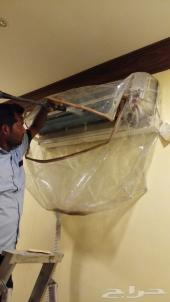 بيع وصيانة ونقل وتنظيف مكيفات تحت اشراف سعودي