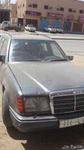 مرسيدس بكس 124 موديل 1990