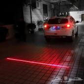 ليزر للدبابات و السيارات LED مسطرة