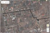 قطعتين ارض للبيع وادي جليل الخماميش مخطط منصور بن احمد
