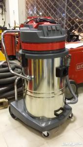 مكنسة كهربائية ( صناعة إيطالية ) ثلاث محركات للمساجد والمنازل والأحواش ومغاسل السيارات