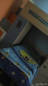 غرفة نوم و غرفة اطفال و كنب