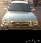 Lx470 للبيع موديل 2004 سعودي