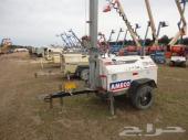 مولد كهرباء واضائه ذو اربع كشافات لموقع العمل او مكان المناسبات - 2011 TEREX RL4000 LIGHT PLANT SN32