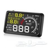 بروجكتر العداد الإلكتروني لعرض سرعة السيارة على الزجاج الامامي الاحدث X5