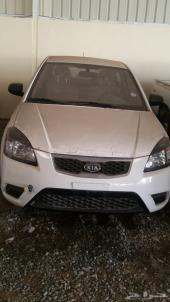 للبيع سياره كيا ريو موديل 2012 اصفار