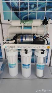 اجهزة ومحطات بيوركوم الأمريكية  لتحليه المياه المنزليه شامل ألتركيب بجده ومكة والطائف والمدينة