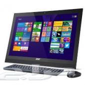 أجهزة كمبيوتر All in one إيسر Acer جديدة بسعر 1850 ريال فقط ..