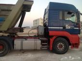 راس شاحنة مان موديل 2005 للبيع او للبدل بسيارة