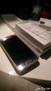 للبيع جوال جلكسي S6 ذهبي استخدام بسيط