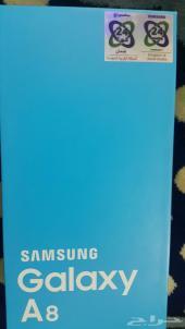 جوال سامسونج جلكسي أي8شريحتين 4جي Samsung Galaxy A8