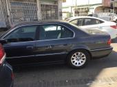 سيارة BMW  1998 .740I ماشية 208 الف كيلو