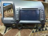 مسجل  لهوندا سيفك يركب على موديل من 2006 ل 2.12 Dvd  GPS  MP3